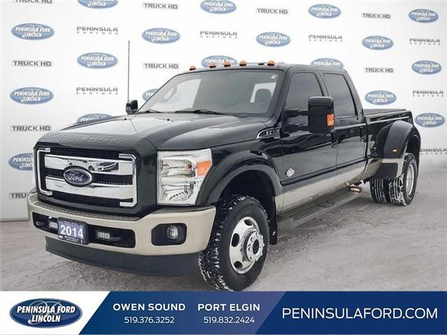 2014 Ford F-350 King Ranch (Stk: 19FE08A) in Owen Sound - Image 1 of 23
