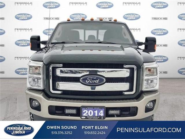 2014 Ford F-350 King Ranch (Stk: 19FE08A) in Owen Sound - Image 2 of 23