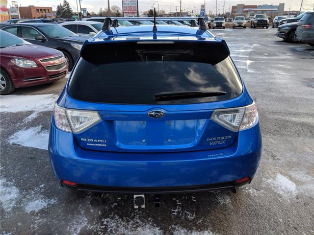 2011 subaru impreza wrx limited hatchback