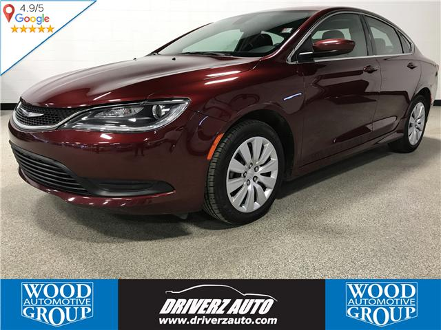 2016 Chrysler 200 LX (Stk: B11872) in Calgary - Image 1 of 15