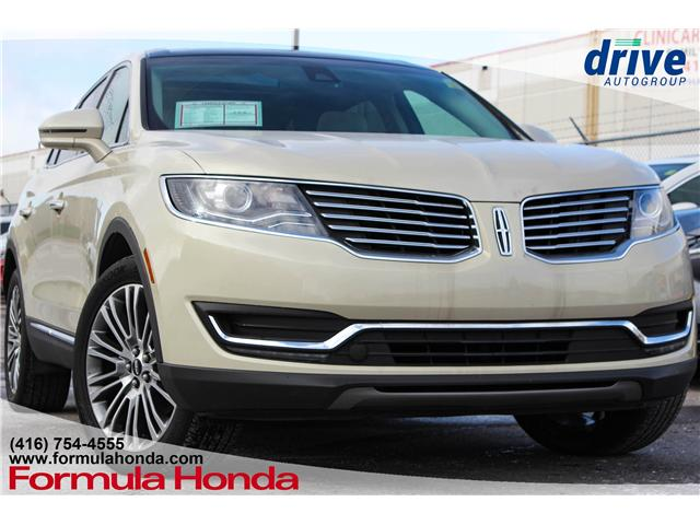 2016 Lincoln MKX Reserve (Stk: B10749) in Scarborough - Image 1 of 28