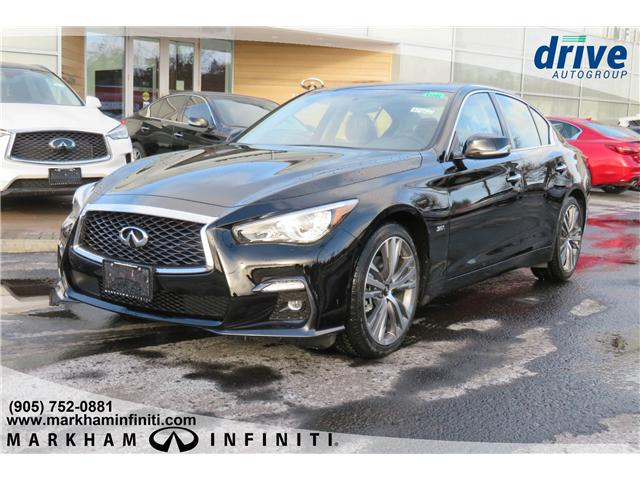 2019 Infiniti Q50 3.0t Signature Edition (Stk: K462) in Markham - Image 1 of 23
