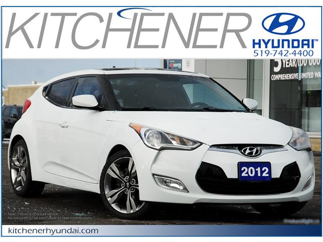2012 Hyundai Veloster  (Stk: 58400A) in Kitchener - Image 1 of 15