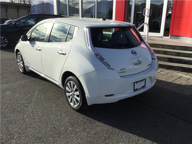 2017 Nissan LEAF S (Stk: N18-0159P) in Chilliwack - Image 3 of 17