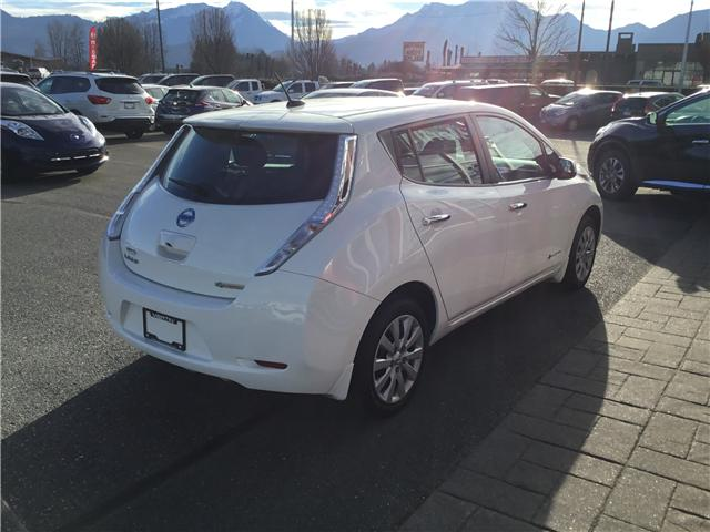 2017 Nissan LEAF S (Stk: N18-0159P) in Chilliwack - Image 5 of 17