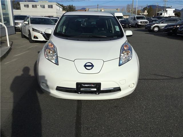 2017 Nissan LEAF S (Stk: N18-0159P) in Chilliwack - Image 8 of 17