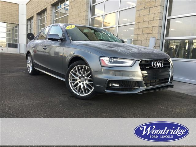 2015 Audi A4 2.0T Komfort plus (Stk: J-2822B) in Calgary - Image 1 of 20