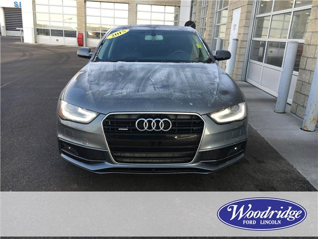2015 Audi A4 2.0T Komfort plus (Stk: J-2822B) in Calgary - Image 4 of 20