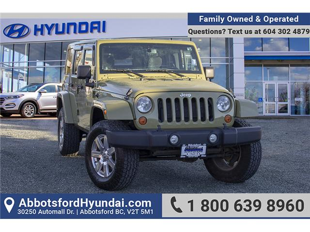 2013 Jeep Wrangler Unlimited Sahara (Stk: JE706389A) in Abbotsford - Image 1 of 25
