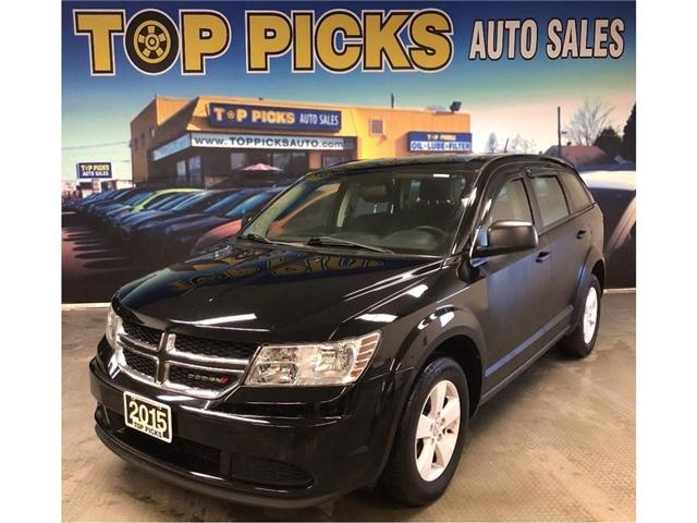 2015 Dodge Journey CVP/SE Plus (Stk: 692600) in NORTH BAY - Image 1 of 25