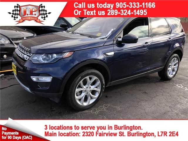 2017 Land Rover Discovery Sport HSE LUXURY (Stk: 45334) in Burlington - Image 1 of 28