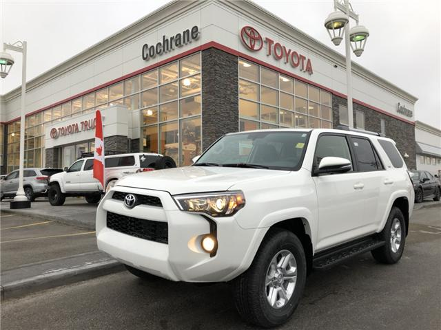 2019 Toyota 4Runner SR5 (Stk: 190087) in Cochrane - Image 1 of 20