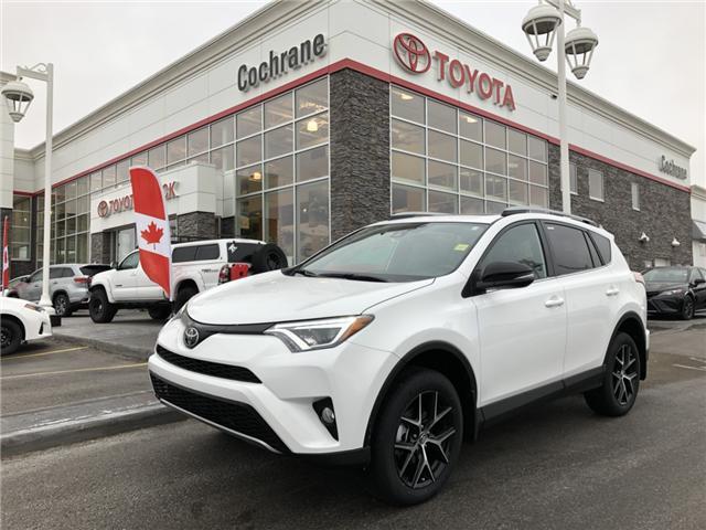 2018 Toyota RAV4 SE (Stk: 180514) in Cochrane - Image 1 of 17
