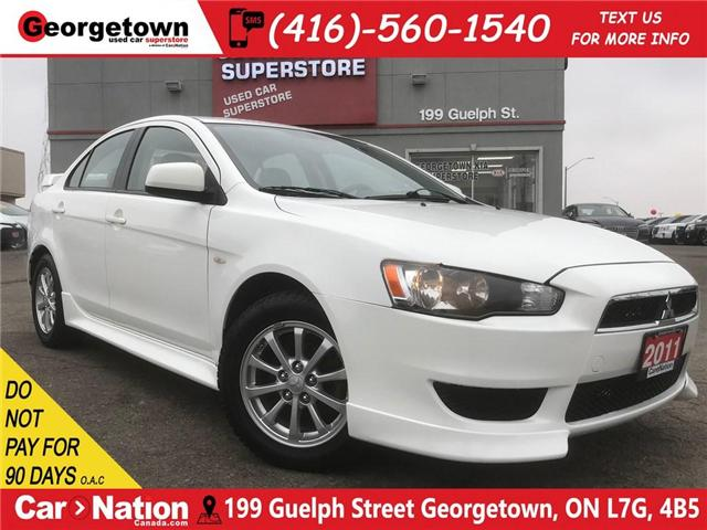 2011 Mitsubishi Lancer SE | LEATHER | ROOF | SPOILER | (Stk: DR417A) in Georgetown - Image 1 of 26