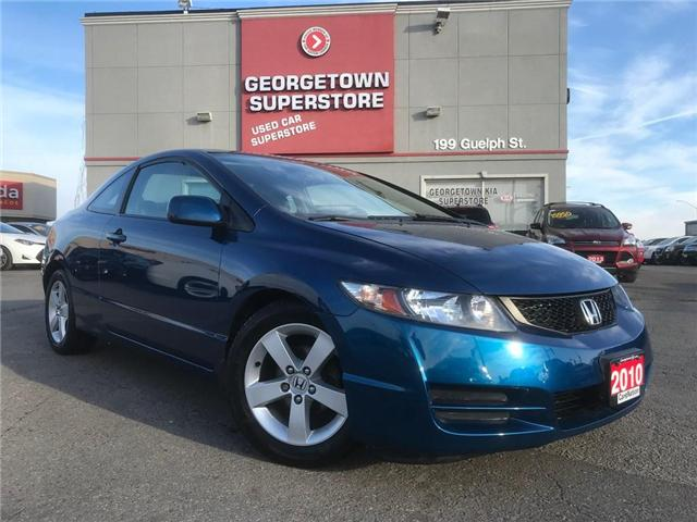 2010 Honda Civic LX SR | COUPE | AUTO | ONE OWNER | SUNROOF (Stk: P11518A) in Georgetown - Image 2 of 23