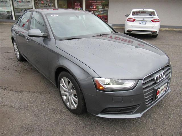 2013 Audi A4 2.0T QUATTRO | LEATHER | SUNROOF | HTD SEATS (Stk: P11354A) in Oakville - Image 2 of 23