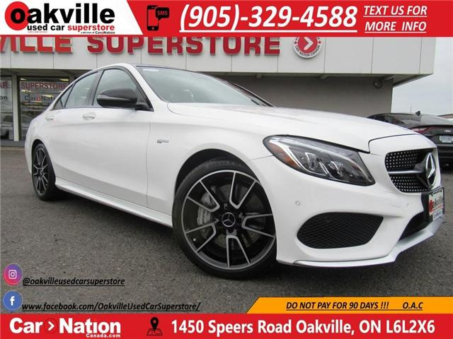 2017 Mercedes-Benz C43 AMG 4Matic | RED LEATHER | NAVI | PANO ROOF (Stk: P11422) in Oakville - Image 1 of 30