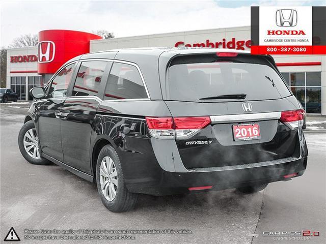 2016 Honda Odyssey EX (Stk: U4927A) in Cambridge - Image 4 of 27