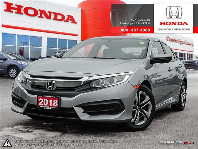 2018 Honda Civic LX (Stk: 19138A) in Cambridge - Image 1 of 27