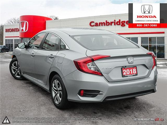 2018 Honda Civic LX (Stk: 19138A) in Cambridge - Image 4 of 27