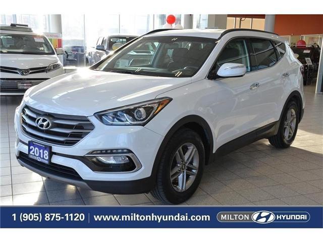 2018 Hyundai Santa Fe Sport  (Stk: 054181) in Milton - Image 1 of 38