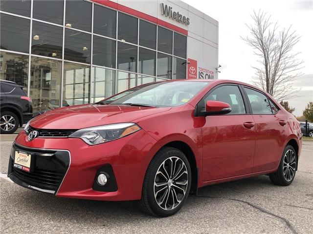 2016 Toyota Corolla S (Stk: U2094) in Vaughan - Image 1 of 19