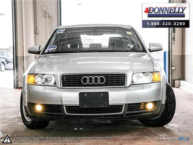 2002 Audi A4 1.8T (Stk: PBWDR2038A) in Ottawa - Image 2 of 26