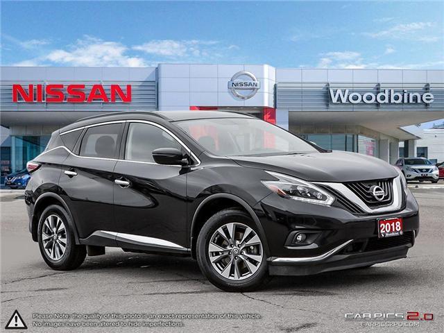 2018 Nissan Murano SV (Stk: P7163) in Etobicoke - Image 1 of 27