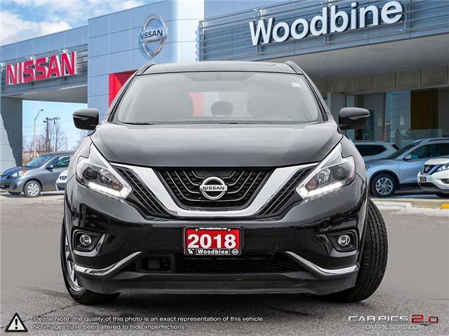 2018 Nissan Murano SV (Stk: P7163) in Etobicoke - Image 2 of 27