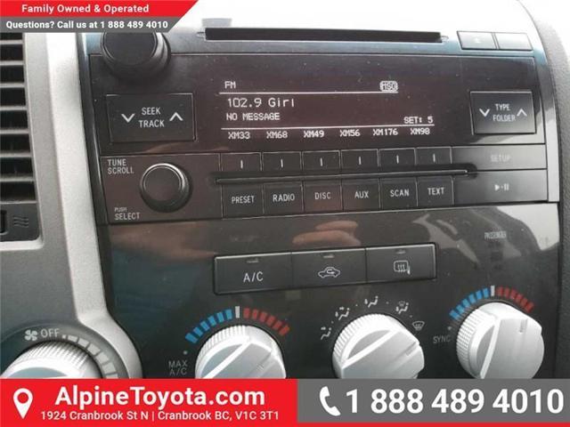 2011 Toyota Tundra SR5 (Stk: X769277A) in Cranbrook - Image 12 of 16