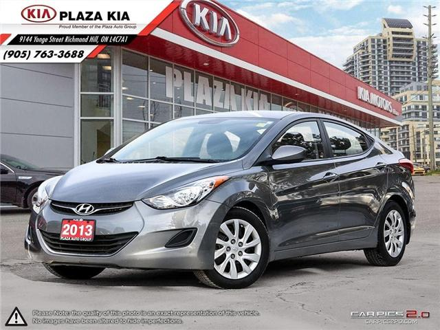 2013 Hyundai Elantra  (Stk: 6667A) in Richmond Hill - Image 1 of 26