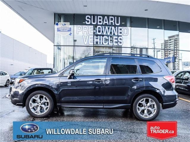 2018 Subaru Forester 2.5i LIMITED|SUNROOF|BLUETOOTH|NAVI|LEATHER (Stk: 18D42) in Toronto - Image 2 of 27