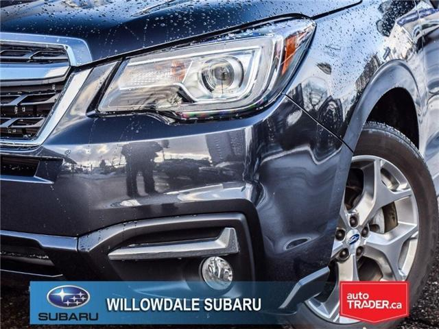 2018 Subaru Forester 2.5i LIMITED|SUNROOF|BLUETOOTH|NAVI|LEATHER (Stk: 18D42) in Toronto - Image 7 of 27