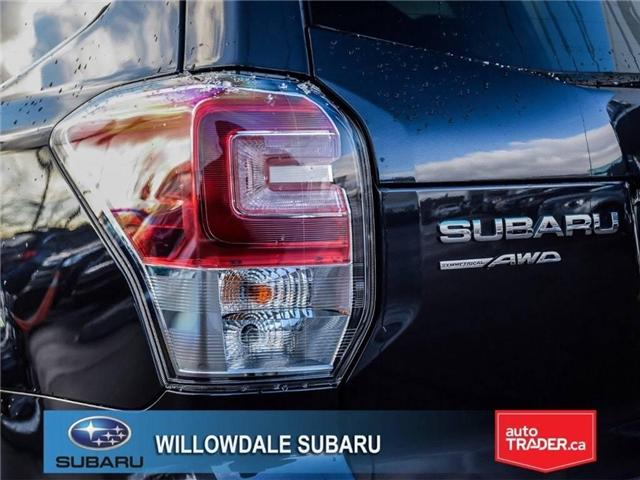 2018 Subaru Forester 2.5i LIMITED|SUNROOF|BLUETOOTH|NAVI|LEATHER (Stk: 18D42) in Toronto - Image 8 of 27