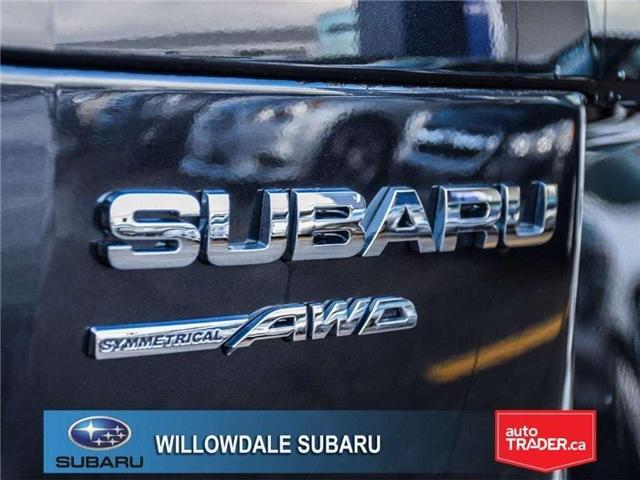 2018 Subaru Forester 2.5i LIMITED|SUNROOF|BLUETOOTH|NAVI|LEATHER (Stk: 18D42) in Toronto - Image 10 of 27