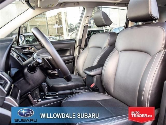 2018 Subaru Forester 2.5i LIMITED|SUNROOF|BLUETOOTH|NAVI|LEATHER (Stk: 18D42) in Toronto - Image 13 of 27
