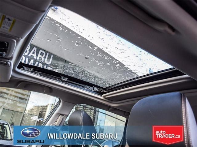 2018 Subaru Forester 2.5i LIMITED|SUNROOF|BLUETOOTH|NAVI|LEATHER (Stk: 18D42) in Toronto - Image 14 of 27