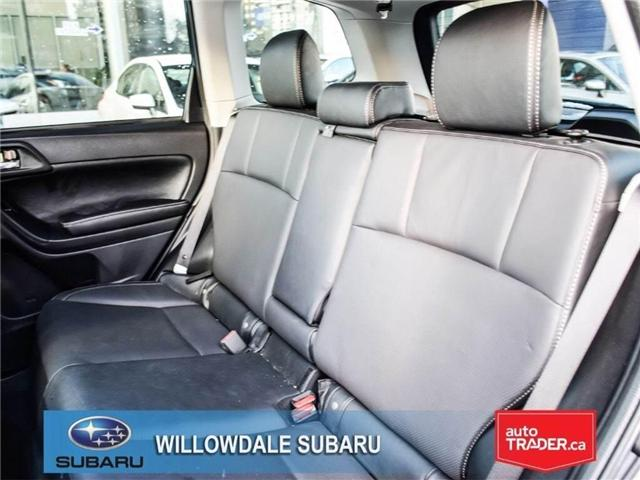 2018 Subaru Forester 2.5i LIMITED|SUNROOF|BLUETOOTH|NAVI|LEATHER (Stk: 18D42) in Toronto - Image 15 of 27
