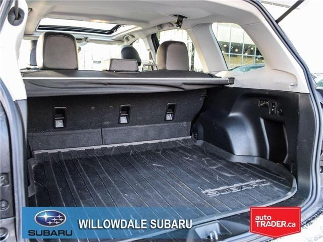 2018 Subaru Forester 2.5i LIMITED|SUNROOF|BLUETOOTH|NAVI|LEATHER (Stk: 18D42) in Toronto - Image 16 of 27