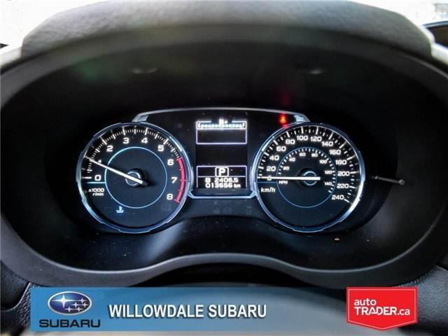 2018 Subaru Forester 2.5i LIMITED|SUNROOF|BLUETOOTH|NAVI|LEATHER (Stk: 18D42) in Toronto - Image 17 of 27