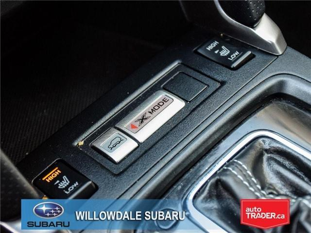 2018 Subaru Forester 2.5i LIMITED|SUNROOF|BLUETOOTH|NAVI|LEATHER (Stk: 18D42) in Toronto - Image 22 of 27