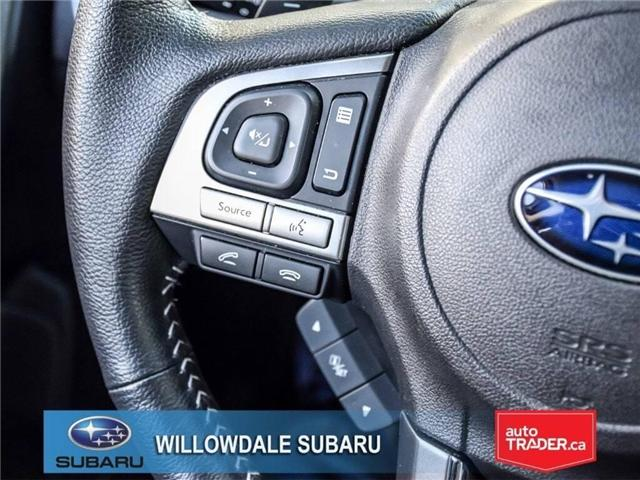 2018 Subaru Forester 2.5i LIMITED|SUNROOF|BLUETOOTH|NAVI|LEATHER (Stk: 18D42) in Toronto - Image 26 of 27