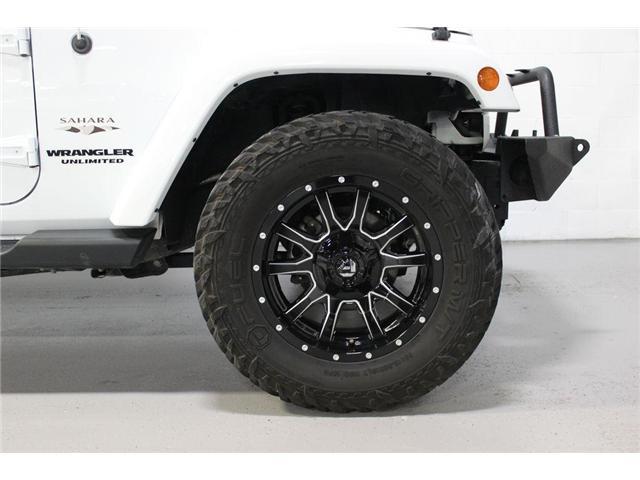 2017 Jeep Wrangler Unlimited Sahara (Stk: 668140) in Vaughan - Image 8 of 28