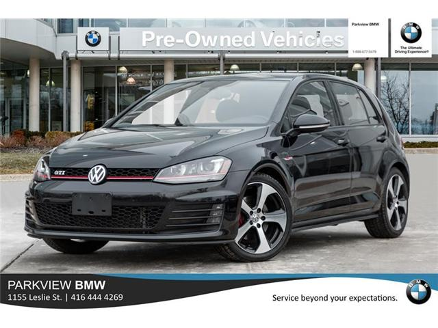 2016 Volkswagen Golf GTI 5-Door Autobahn (Stk: 301815A) in Toronto - Image 1 of 21