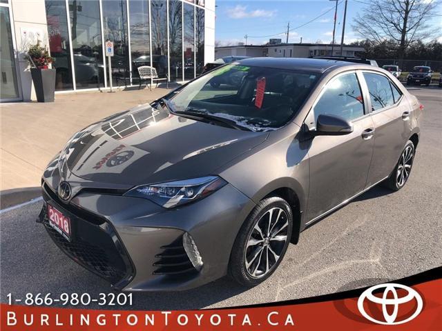 2018 Toyota Corolla SE (Stk: U10524) in Burlington - Image 1 of 11