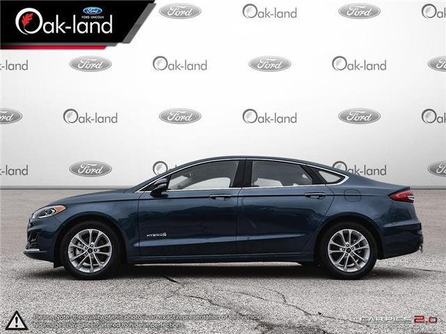 2019 Ford Fusion Hybrid SEL (Stk: 9U004) in Oakville - Image 2 of 25