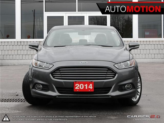 2014 Ford Fusion SE (Stk: 19_34) in Chatham - Image 2 of 27