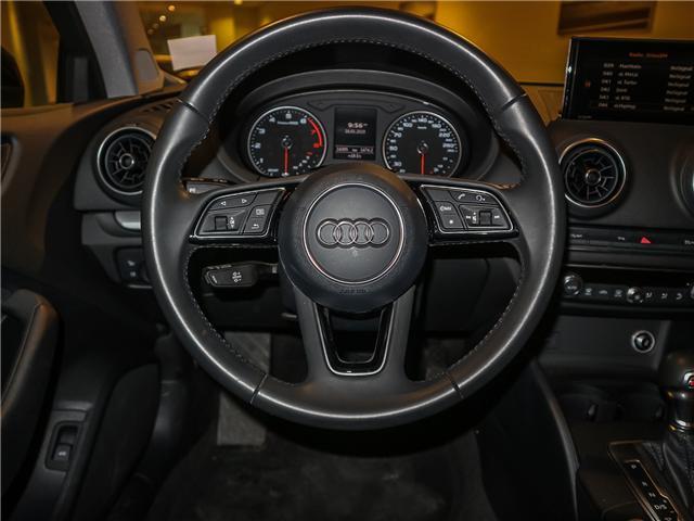 2018 Audi A3 2.0T Komfort (Stk: P3007) in Toronto - Image 12 of 27