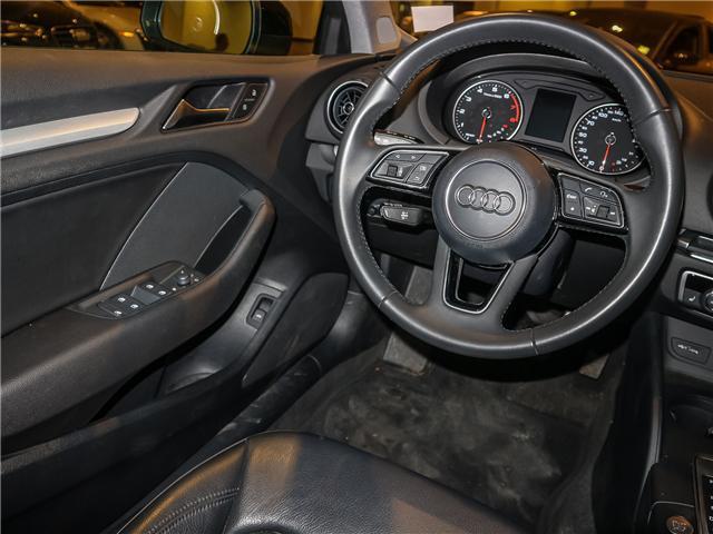 2018 Audi A3 2.0T Komfort (Stk: P3007) in Toronto - Image 13 of 27