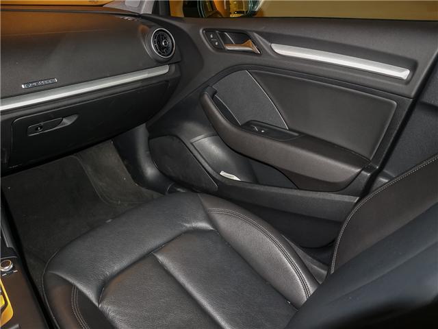 2018 Audi A3 2.0T Komfort (Stk: P3007) in Toronto - Image 15 of 27